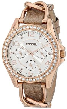 Women watches : Crystal watches for ladies Fossil - womens luxury watches, womens big face gold watches, cute watches for womens