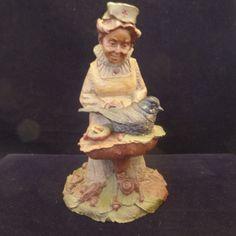 Vintage 1986 Signed Tom Clark Cairn Studio FLORENCE Nurse Gnome Figurine