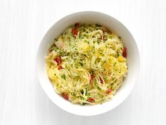 Get this all-star, easy-to-follow Garlic-Herb Spaghetti Squash recipe from Food Network Magazine.