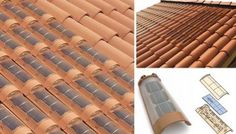 Tejas solares como generadoras de energía renovable