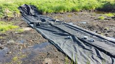 Tijdelijke waterkering flexibel slamdam tegen overstromingen