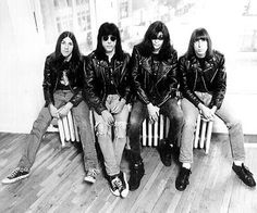 The Ramones - one of Walter's faves