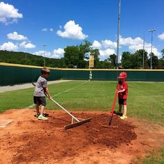 If you're going to play on it then you have to take care of it. Thanks to one of our bloggers. Photo courtesy of @skybo53 Follow him because he's awesome and also because he is raising two #baseball #basketball #football playing sons that love anything with a ball involved obviously.