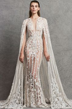 Zuhair Murad Fall 2018 Bridal Collection.