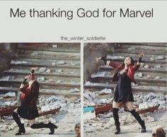 God love Marvel like I do