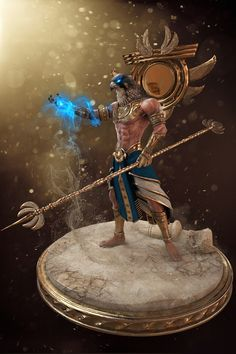 ArtStation - Ra - The Egyptian Sun God, James Lin
