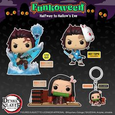 Funko Pop Dolls, Funko Pop Figures, Vinyl Figures, Geek Room, Pop Collection, Slayer Anime, Cute Toys, Funko Pop Vinyl, Anime Demon