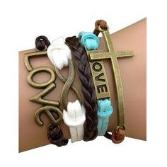Multi Color Love Arm Party Bracelet