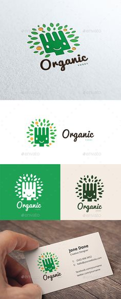 Organic Food — Vector EPS #life #gradual food • Available here → https://graphicriver.net/item/organic-food/14437515?ref=pxcr