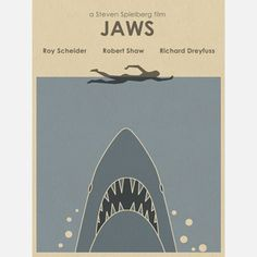 Jaws Inspired18x24 now featured on Fab.