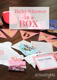 Beautiful Baby Shower In A Box! | Www.amusingmj.com More