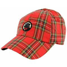 Frat Hat in Red Tartan Plaid by Southern Proper