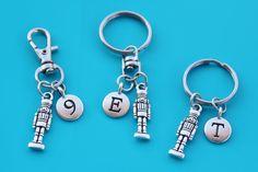 NUTCRACKER Keyring,Zipper Pull,Purse Dangle,Initial or Number,Christmas,Nutcracker,Ballet,Ballet Teacher,Ballerina,Christmas gift,1541