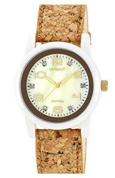 SPROUT Watches Cork Strap Watch, 38mm