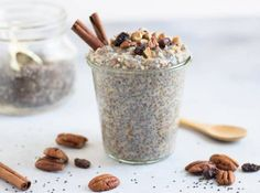 Maple Cinnamon Overnight Chia Rice Pudding + Fertility Foods Book Review