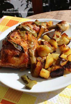 Sicilian Chicken Legs