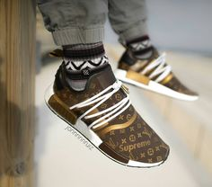 Cop or Drop? Addidas Sneakers, Adidas Shoes, High Top Sneakers, Zapatos Louis Vuitton, Louis Vuitton Shoes, Adidas Nmd R1, Custom Sneakers, Custom Shoes, Vans Old Skool