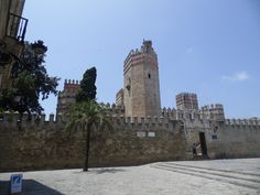 Castle of San Marcos is a medieval castle located in El Puerto de Santa María, Cádiz. In 711, Arab from the North of Africa invaded southern Spain. They renamed the place Alcanatif which means Port of Salt, due to the old salt industry of Phoenicians and Romans.In 1260, Alfonso X of Castile conquered the city from the Moors and renamed it Santa María del Puerto. The castle was erected as a fortified church by King Alfonso X of Castile. It was built on the site of a mosque.