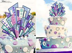 "Wedding Cake Wednesday: ""Mad"" for EpcotEver After Blog | Disney Fairy Tale Weddings and Honeymoon"