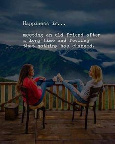 happy quotes & We choose the most beautiful Meeting an old Friend after Long Time - Happiness Quotes for you.Meeting an old Friend after Long Time - Happiness Quotes most beautiful quotes ideas Old Friend Quotes, Best Friend Quotes Funny, Besties Quotes, Happy Quotes, Happiness Quotes, Meeting Friends Quotes, Long Time Friends Quotes, Old Memories Quotes, Old Times Quotes