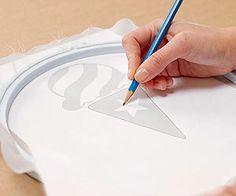 Easy Screen Printing: Draw the Design (via Parents.com)