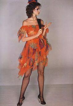 Circa 1979 - Carol Alt in YSL Rive Gauche Vogue