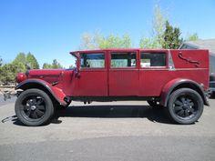 1927 Hudson Hearse 4x4.