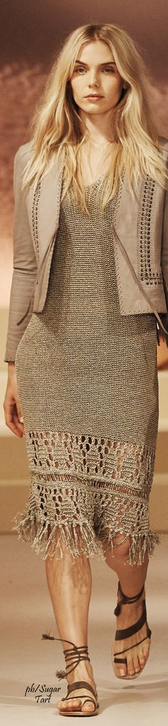 Elie Tahari Spring 2016 RTW women fashion outfit clothing style apparel @roressclothes closet ideas