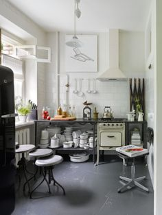 House Tour: Soviet chic in a Moscow