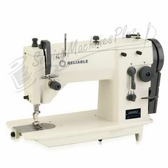 Reliable 2200SZ Professional Zig-Zag - Straight Stitch Sewing Machine. Includes table, motor (Assembled) & FREE Uberlight LED 9000C Lamp! - Previously named 20U73