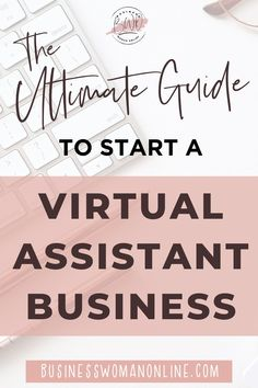 How to become a virtual assistant with no experience. Start your own virtual assistant business and make income from home. #vabusiness #workfromhome #stayathomemomjobs Best Small Business Ideas, Work From Home Business, Online Work From Home, Work From Home Tips, Online Typing Jobs, Legit Online Jobs, Working Mom Tips, Virtual Assistant Services, Making Ideas