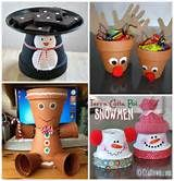 terra cotta clay pots crafts - Yahoo Image Search Results