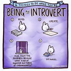 Things to do while being an introvert