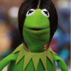 Me in a Kermit way