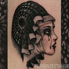 nun lady head tattoo by Dennis M Del Prete at providence tattoo…