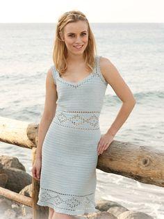 crochet pattern - retro summer dress