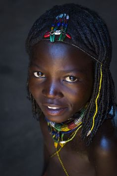 Mucawana tribe girl , Namibia - Eric LafforgueYou can find Eric lafforgue and more on our website. Eric Lafforgue, Kids Around The World, We Are The World, People Around The World, African Children, African Women, Beautiful Children, Beautiful People, Himba People
