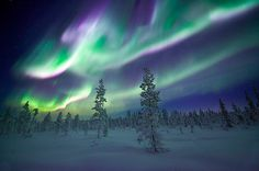 Always loved seeing the Northern Lights when I lived in AK.