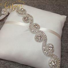 Libre cintura boda del envío Crystal Rhinestone Sash apliques de cinta para la Novias Invitaciones de boda en Moda y Complementos de   en AliExpress.com   Alibaba Group