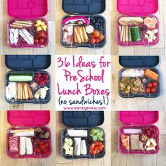 Lunchbox ideas for children, no boring sandwiches! Perfect packed lunch suggestions and interesting, healthy snacks for kids.