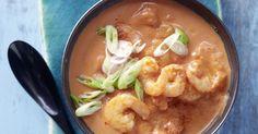 Tomaten-Kokos-Suppe liegt in puncto Zellschutz weit vorn – dank viel Lycopin aus Tomaten und Vitamin C.