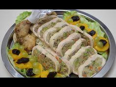 Gödöllői töltött csirke hidegen - Az én alapszakácskönyvem - YouTube Jamie Oliver, Sushi, Japanese, Ethnic Recipes, Youtube, Food, Japanese Language, Eten, Meals