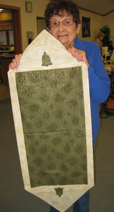 Verna and her 10 minute table runner talei 39 s sewing for 10 minute table runner placemats