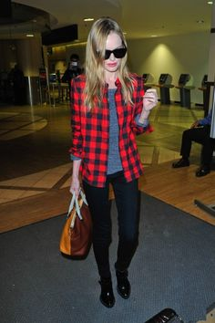 outfit inspo: kate bosworth at the airport