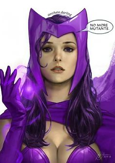 Marvel Girls, Marvel Dc, Marvel Studios Movies, Superhero Suits, Spy Girl, Scarlet Witch Marvel, Purple Suits, Dark Witch, Power Colors