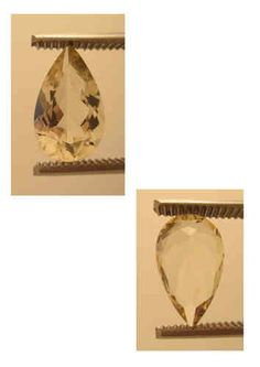 Golden Sunstone (Labradorite) Origin: Oregon USA, pear, 3,60 ct 14 x 8,5 x 6 mm - www.kn-jewellery.com
