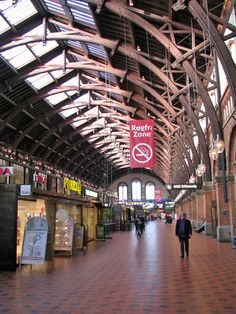 Copenhagen Railway station, Denmark  -  Travel Photos by Galen R Frysinger, Sheboygan, Wisconsin