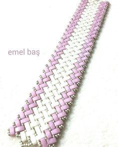 Half tila bracelet by Emel Bas from Turkey