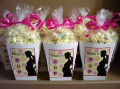 I don't like popcorn but this would be so cute for a mommy to be