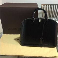 84bd69a959f Selling this Louis Vuitton Epi Leather Alma MM in my Poshmark closet! My  username is  Vuitton
